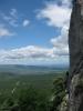 uitzicht vanuit de grot